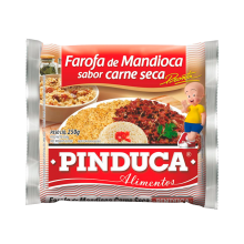 Farofa pronta Sabor Bacon Pinduca 250g